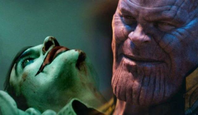 Thanos loda Joker