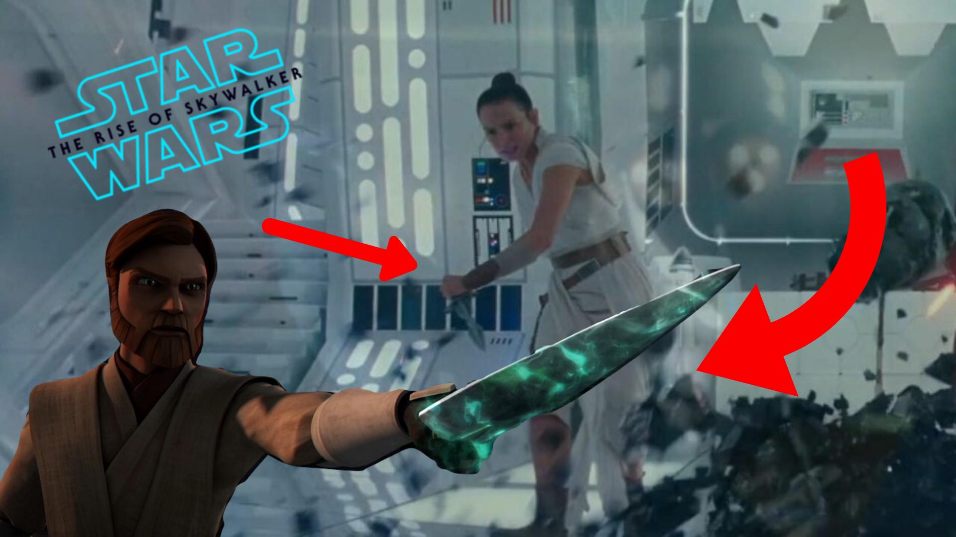 Ascesa Skywalker pugnale