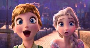 curiosità indiscrezioni frozen film