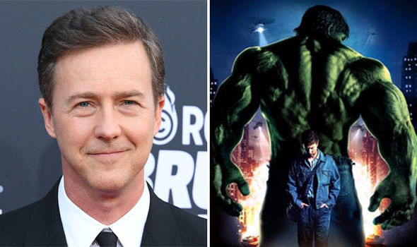 Edward Norton Hulk MCU