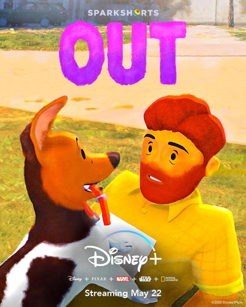 Disney plus Out cortometraggio