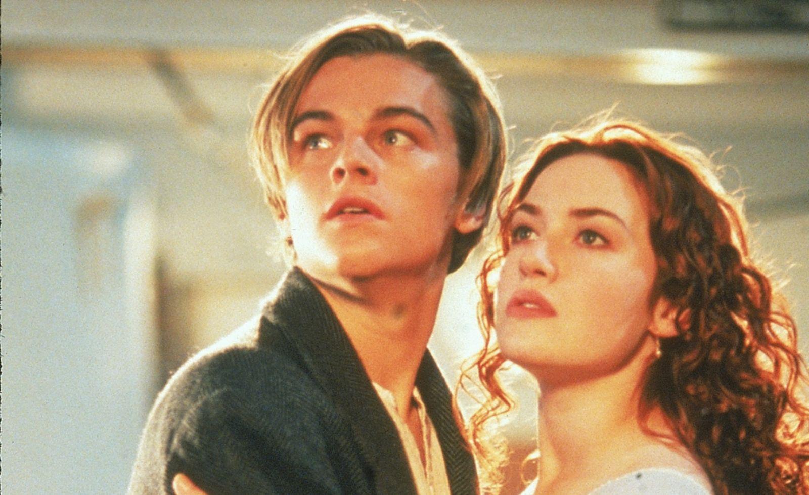 DiCaprio Cameron intervista Winslet