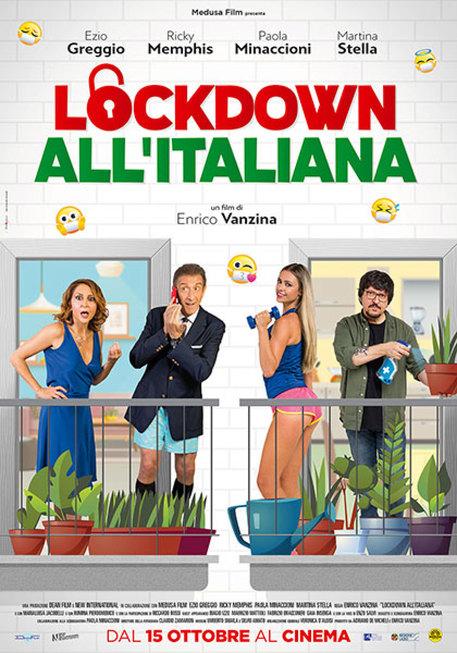 film lockdown vanzina