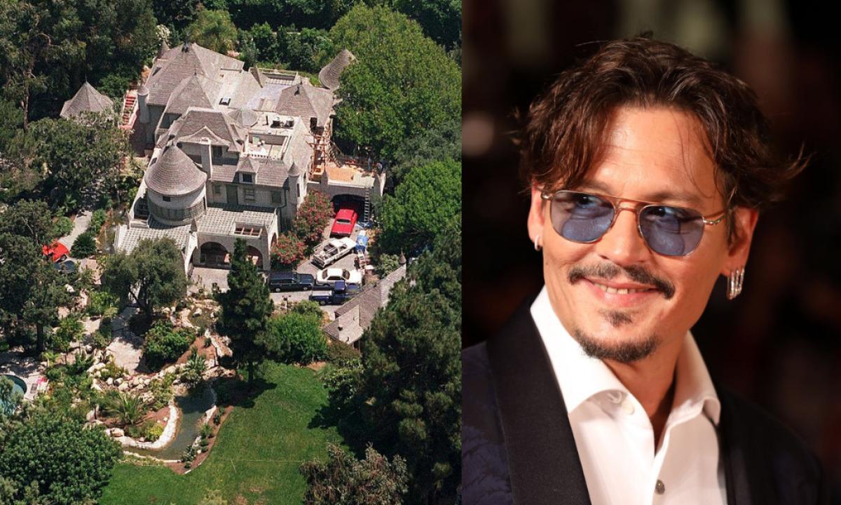Johnny Depp intrusione villa