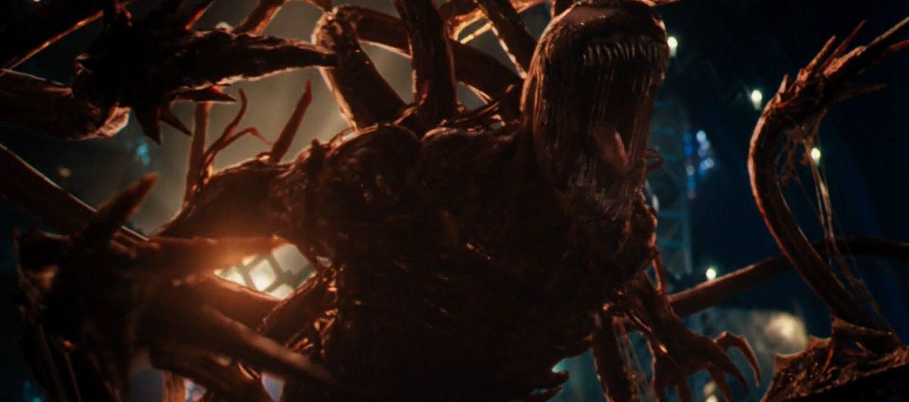 Carnage Venom primo trailer