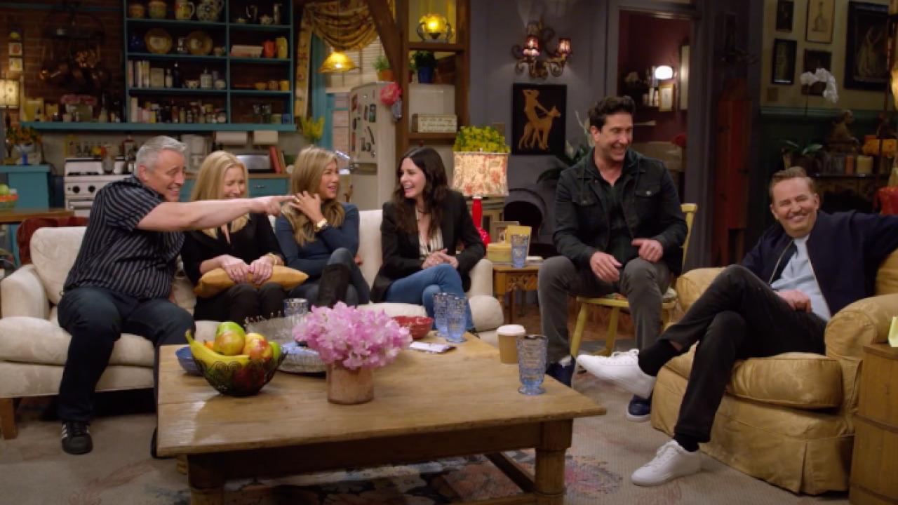 Friends reunion trailer ufficiale